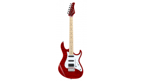 Cort G250 transparant red matching headstock