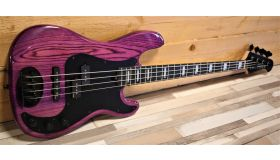 Lakland Skyline 44-64 Geezer Butler Trans Purple LTD