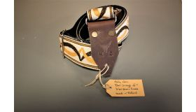 Holy Cow Straps 60's Yellow Brown Snake